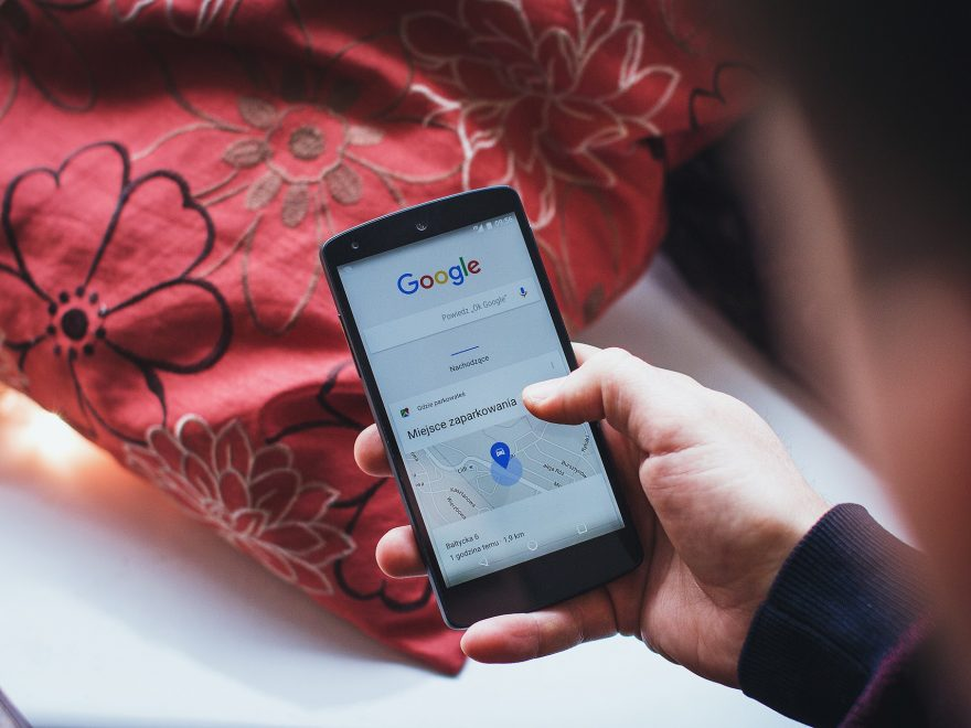 Google search on android smartphone